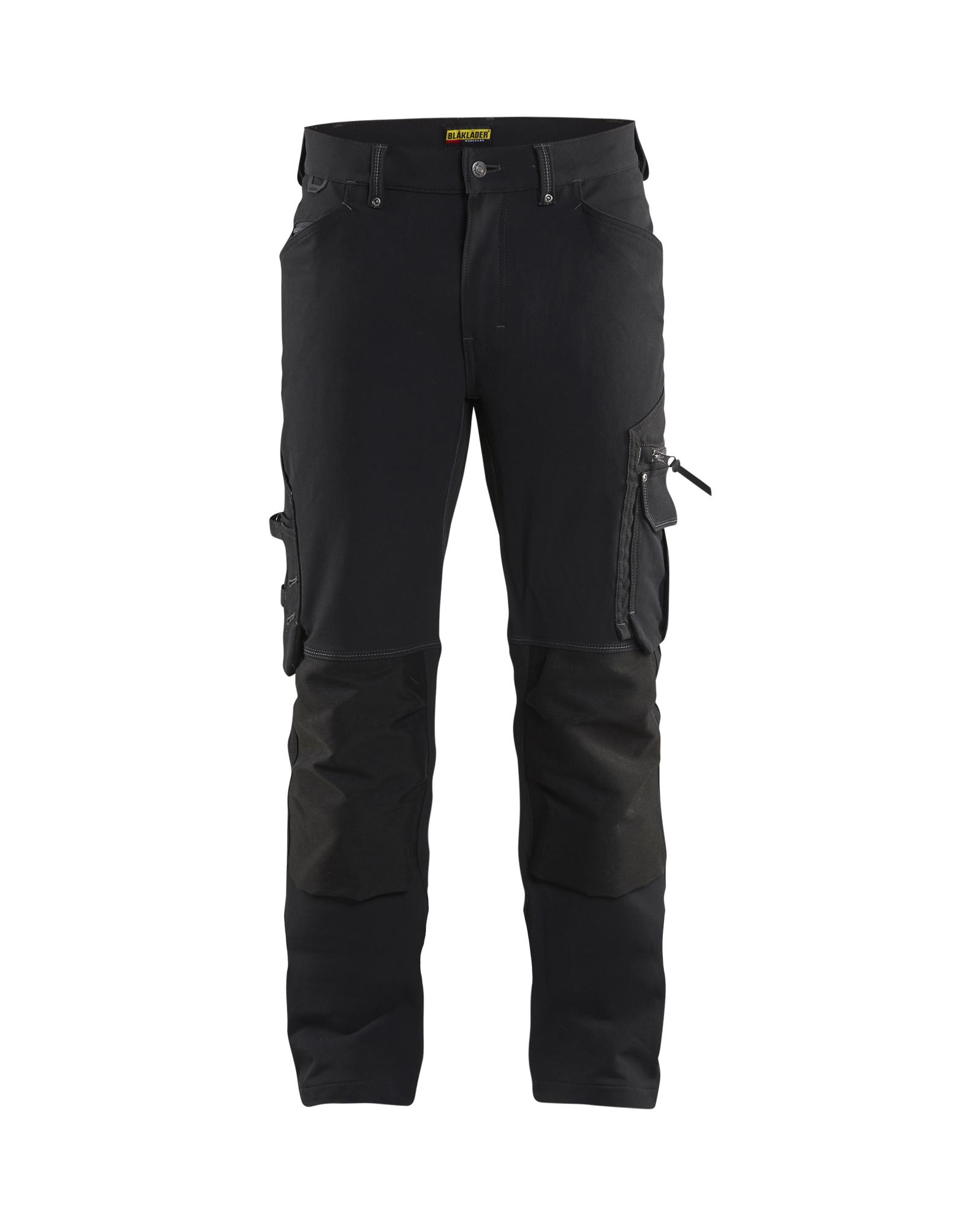 Werkbroek 4-weg stretch X1900 zonder spijkerzakken