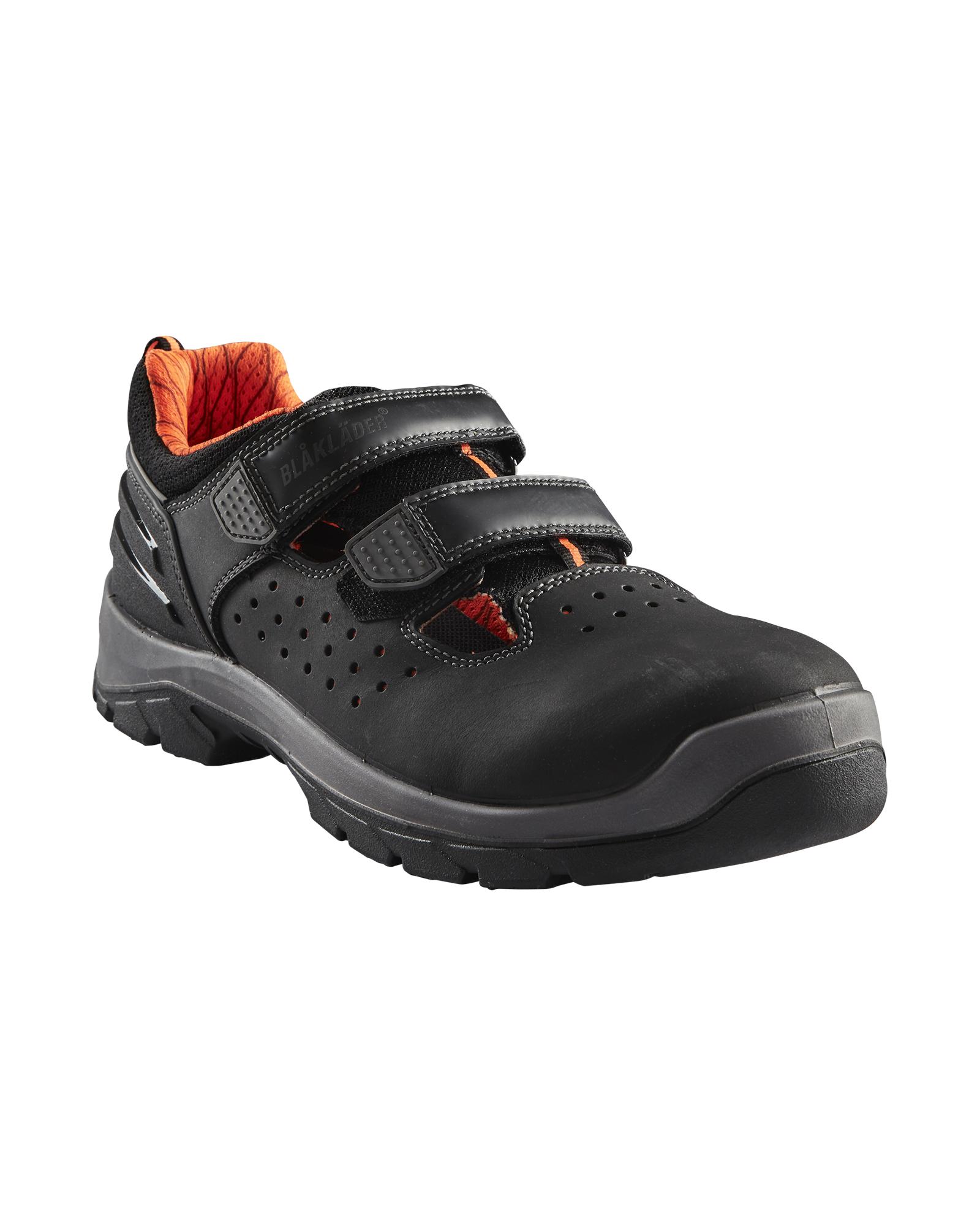 Safety sandal S1 P BLKL€DER 2449 ELITE