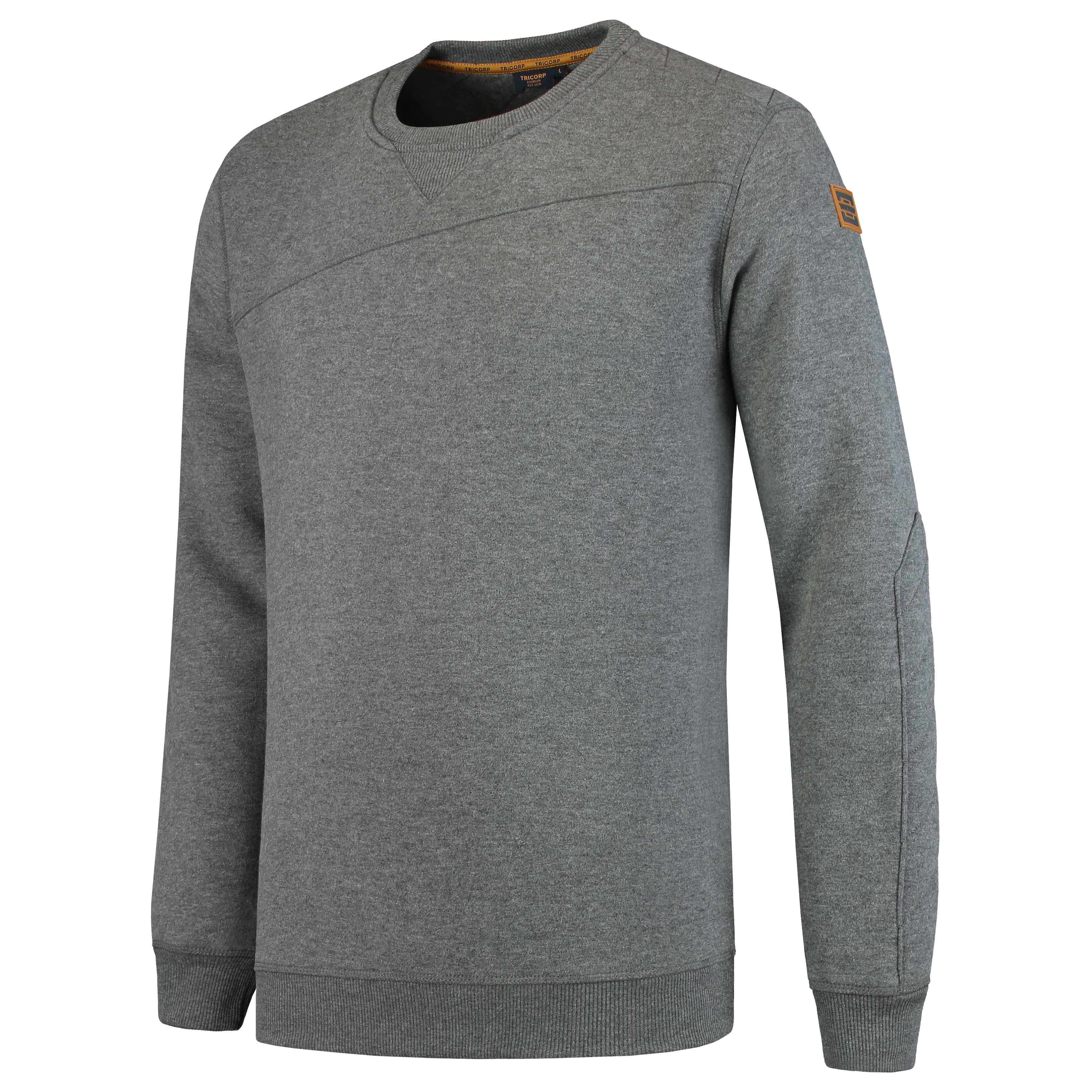 Tricorp Sweater Premium stone melange 304005