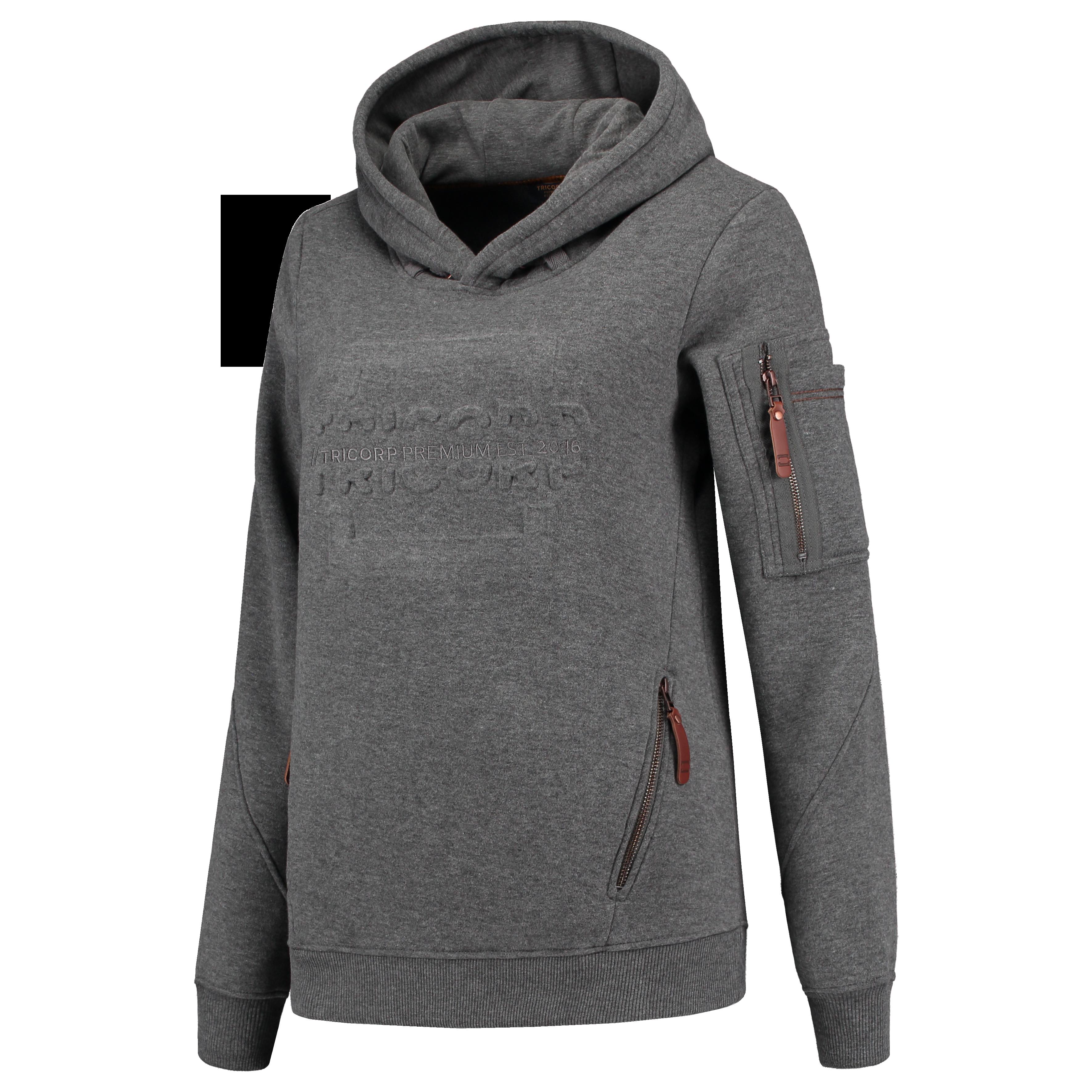 Sweater Premium Capuchon Logo Dames