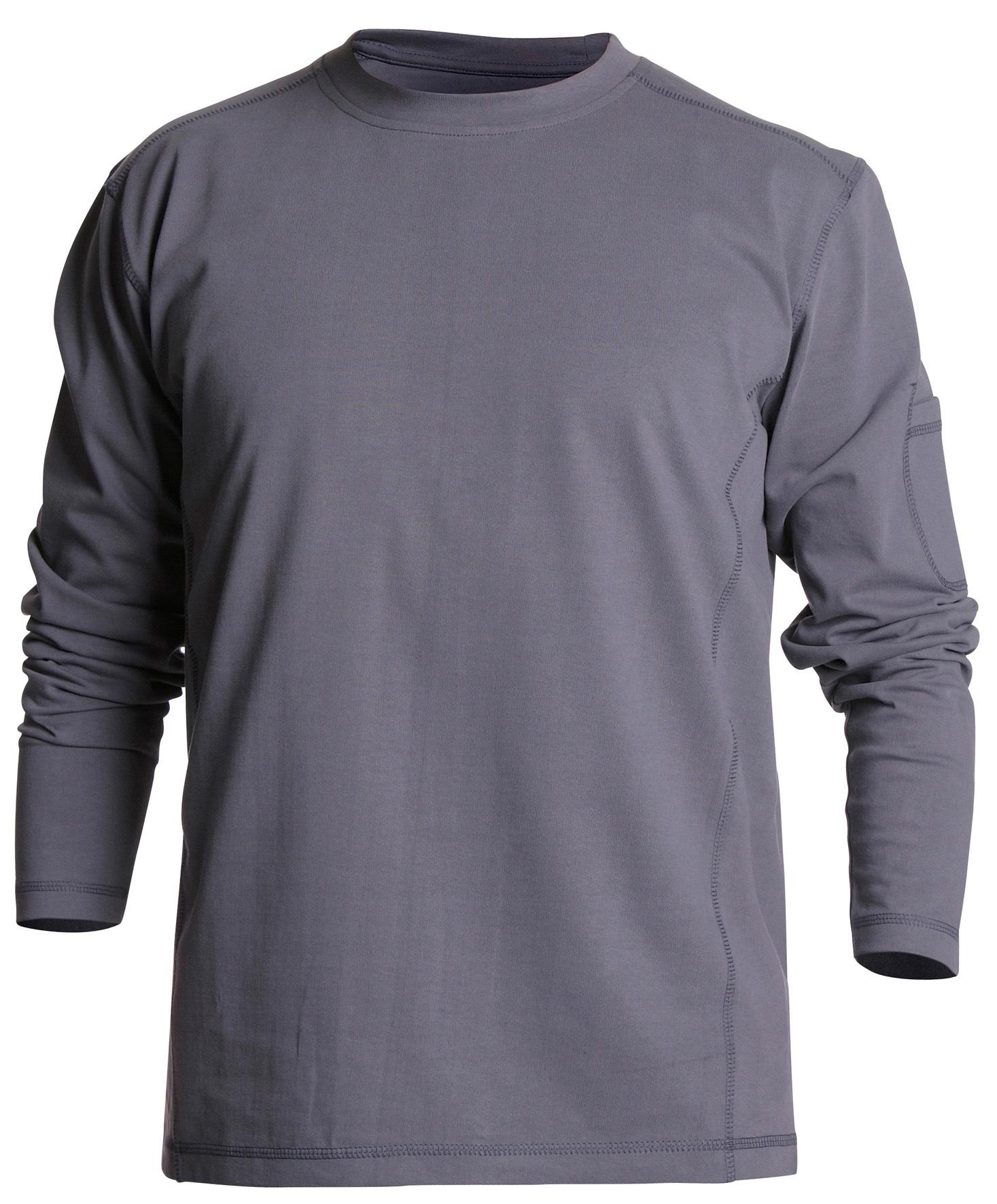 Heavy T-shirt, lange mouwen