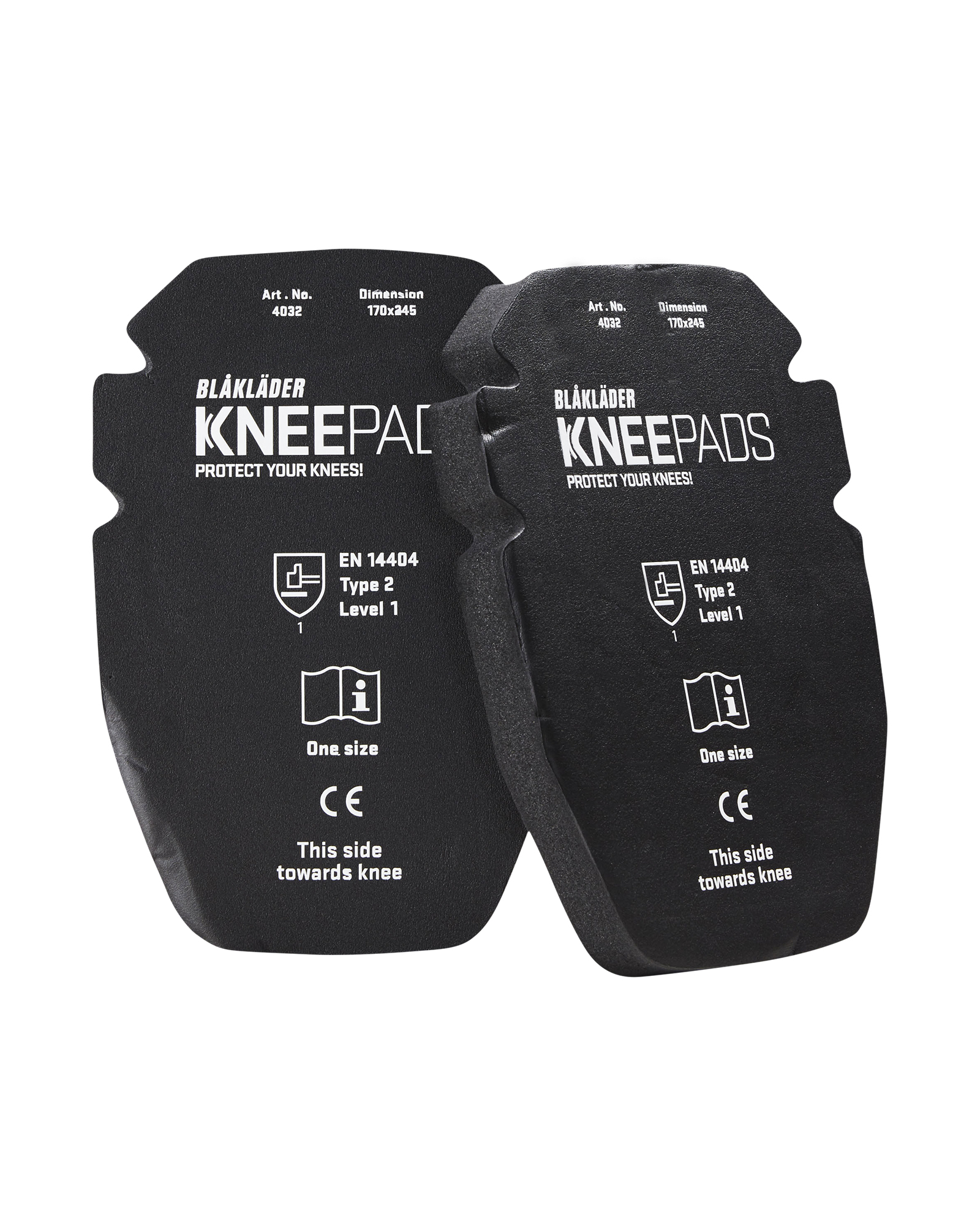Knie-inlegstukken Gel 25 mm