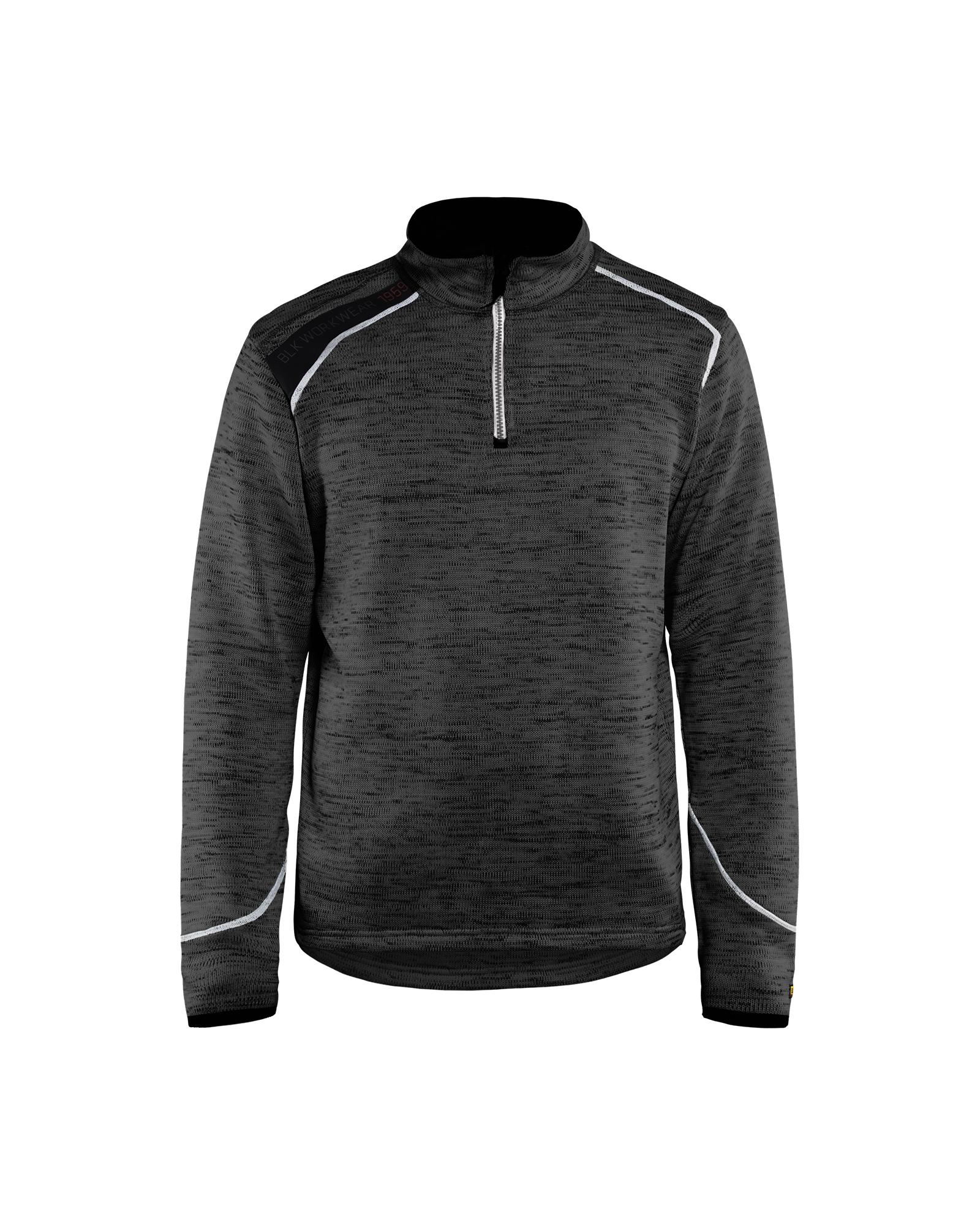 Gebreid Sweatshirt 1/2 rits